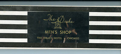 The Drake Men's Shop, The Drake Hotel, Chicago, tie box