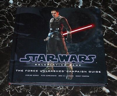 Star Wars Saga RPG The Force Unleashed Campaign Guide HC D20