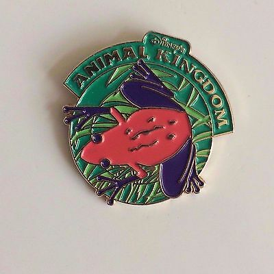 Disney's Animal Kingdom RARE Red Tree Frog Amphibian Old Vintage Trading Pin