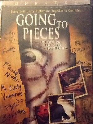 Going to Pieces: The Rise and Fall of the Slasher Film (DVD) UNRATED EDITION NEW