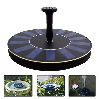 COSSCCI Submersible Solar Powered Water Fountain Pump Kits with Solar Panel F...