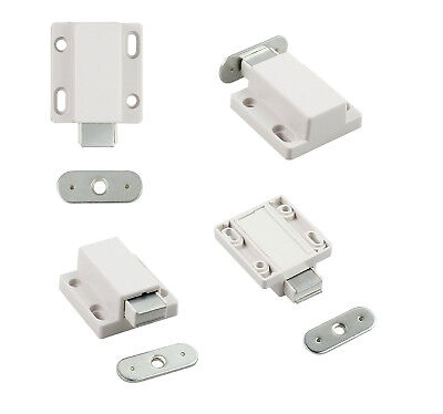 Magnetic Pressure Push To Open Touch Latch Kitchen Cabinet Doors Catches Drawer
