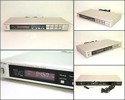 Technics ST-Z55 AM FM Stereo Synthesizer 10kHz Step Tuner