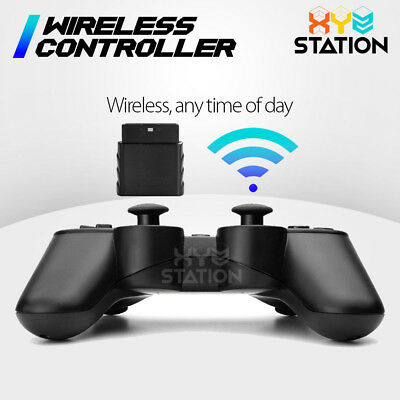 NEW Wireless Bluetooth Game Controller For PS2 Black