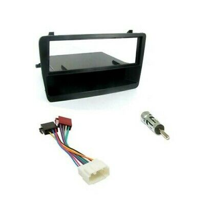 Honda Civic Car CD Stereo Radio Single DIN Black Facia Fascia Fitting Kit Panel