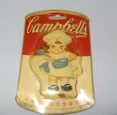 """1990 Campbell Kids Collector's Series 3"""" Resin Souper Kids New in Package"""