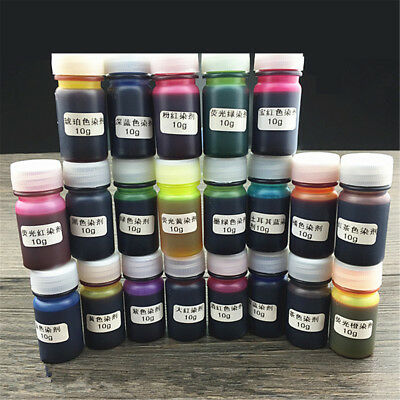 12 Colors 10g Epoxy UV Resin Dye Colorant Resin Pigment Mix Color DIY Art Craft