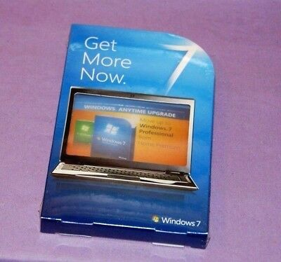 Microsoft Windows 7 Anytime Upgrade from Home Premium to Professional New Sealed