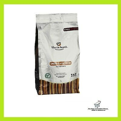 Gloria Jeans Coffees Smooth Classic Blend Whole Bean Coffee 1kg