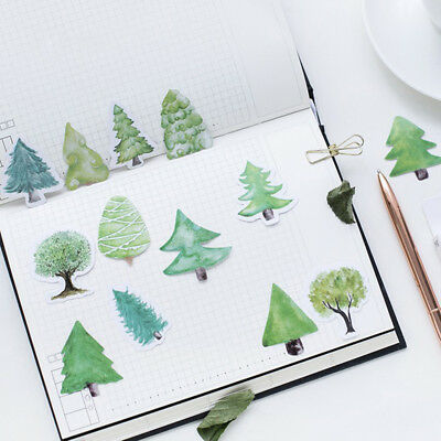 Creative Little Forest Trees Sticky Paper Stickers Scrapbooking Planner  Diary