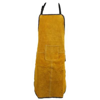 1x 70x100cm Special Protection Workwear Clothing Argon-arc Welding Leather Apron