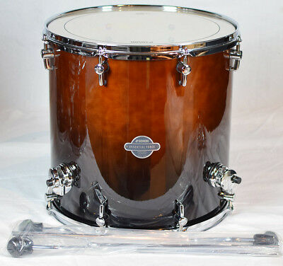 "Sonor Essential Force Floor Tom ESF 1616 FT Brown Fade 16"" x 16"""