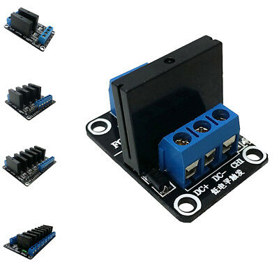 New Solid-State Relay Board Module Low Level for Arduino 240V/2A 1-8CH Black