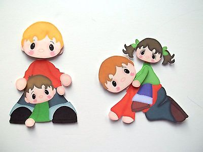3D - U Pick - Fa2 Mother Father Grandma Grandpa Card Scrapbook Embellishment