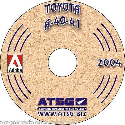 Toyota Volvo A40 A41 A43D ATSG Transmission Rebuild Manual Transaxle Overhaul CD