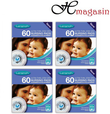 Lansinoh Disposable Nursing Pads Pack of 240 Pieces (60X4)