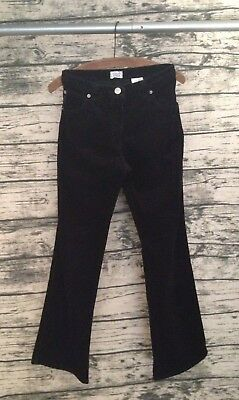 Armani Junior Boys Black Cord Corduroy Trouser Jeans Excellent Condition W28 L28