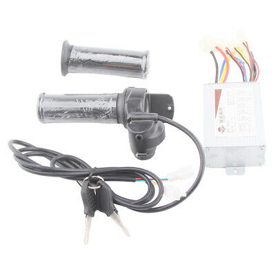 Brush Speed Controller Electric Scooter Motor with Keys Throttle #5 36V800W