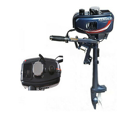 New Portable Outboard Motor Boat Engine 2HP 2 Stroke With Water Cooling System