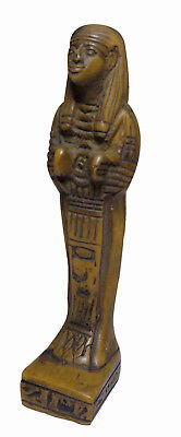 "Queen Cleopatra Pharaoh Figurine Statue Ancient 4.1"" Collectible Sculpture 201"