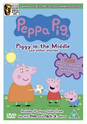 Peppa Pepper Pig - Piggy In The Middle Kids TV Series DVD NEW
