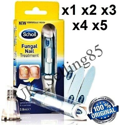 SCHOLL FUNGAL NAIL TREATMENT 3.8ml Anti-Nail Fungus Kills 99.9% of Nail Fungus