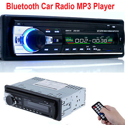 Digital Bluetooth Car Stereo Radio MP3 USB SD AUX-IN FM Player In-dash IPod 12V
