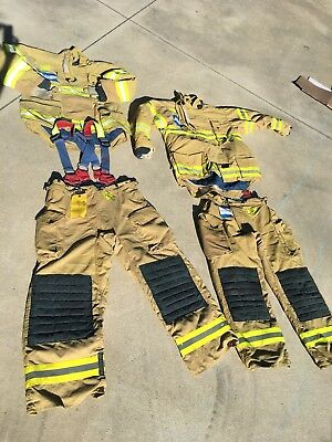 Morning Pride Fire Fighter Turnout Pants and Jacket FIRE Sale combo sale