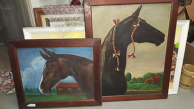 Huge Lot Old Antique Store Art Collection 300 Vintage Modern Listed Painting Oil