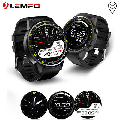 LEMFO F1 Orologio sportivo GPS Smart Band Watch Compass TF Card per Android iOS