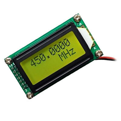 PLJ-0802-C 1MHz-1.2GHz Signal Frequency Counter Cymometer Measurement Green