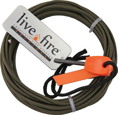 Live Fire Ring O Fire Olive Drab  ROF-OLIVEDRAB