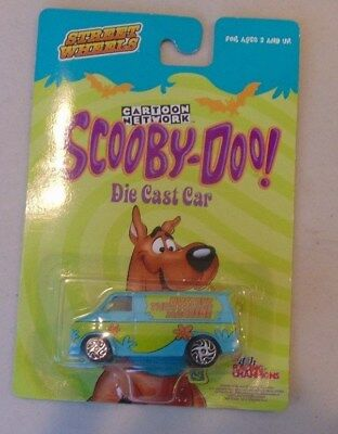 2002 Racing Champions Cartoon Network Scooby Doo Mystery Machine Van Die Cast