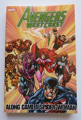 Avengers West Coast Along Came Spider-Woman NEW Marvel Graphic Novel Comic Book