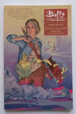 Buffy the Vampire Slayer New Rules Vol. 1 Dark Horse Graphic Novel Comic Book