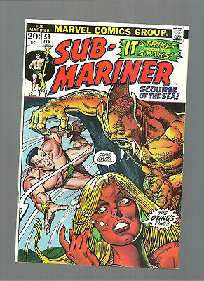 Sub-Mariner #58  High Grade 9.4  Copy