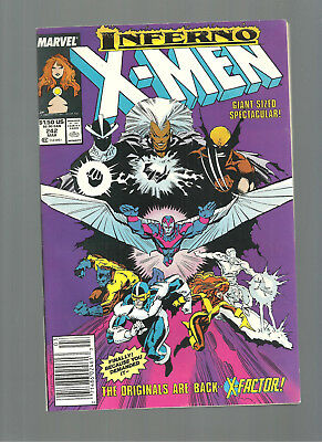 X-Men Lot #242-247,249  X-Factor And 1St Jubille  Average 9.4/9.6