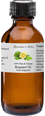 Bergamot Essential Oil 4 oz - 100% Pure and Natural - Free Shipping - US Seller