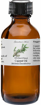 Cajeput Essential Oil - 4 oz - 100% Pure and Natural - Free Shipping