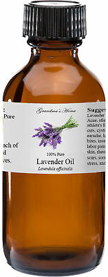Lavender Essential Oil - 4 oz - 100% Pure and Natural - Free Shipping