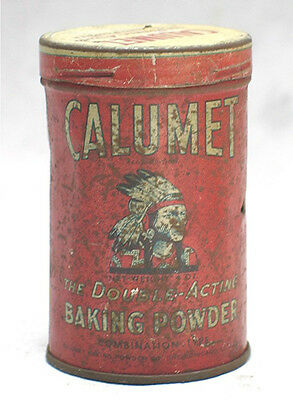 Vintage Baking Powder Tin --- Calumet