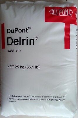 1Lb (White) Delrin Acetal Resin 900P Plastic Injection Molding Pellets