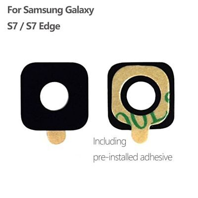 New Camera Glass Lens Cover + Adhesive For Samsung Galaxy S7 G930 / S7 Edge G935