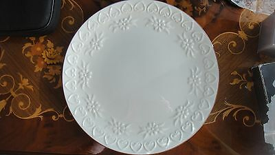 """Stangl Pottery 12 1/2"""" Round Platter - Hearts An Flowers - Christmas Cookies"""