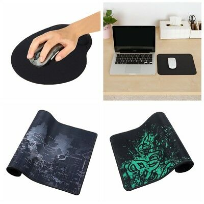 Pure Color World Map Wrist Support Gaming Keyboard Mouse Pad Non Slip Mice Mat