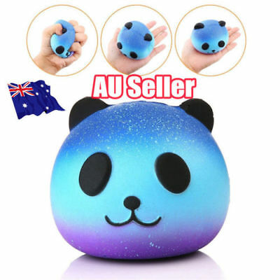 Jumbo Galaxy Panda Squishy Scented Slow Rising Cartoon Kids Hand Pillow Toy MN