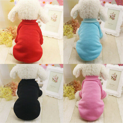 Pet Dog Cat Puppy Sweater Coat For Small Pet Dog Warm Costume Apparel Chihuahua