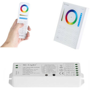 Milight Wifi 2.4G Rf Remote 8-Zone Rgbw Rgb Cct Led Strip Bulb Panel Controller