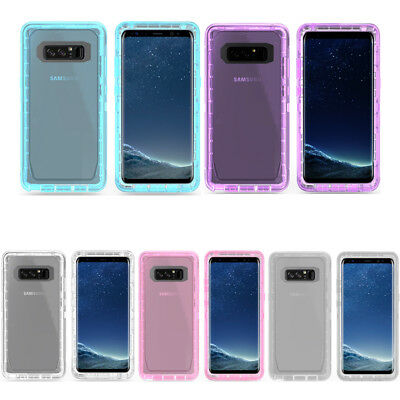 For SAMSUNG Galaxy Note8/S8 S8P Shockproof Defender Case Cover Belt Clip Holster