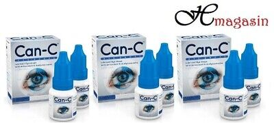 CAN-C Eye Drops 2x 5ml Vials - (3 PACK)